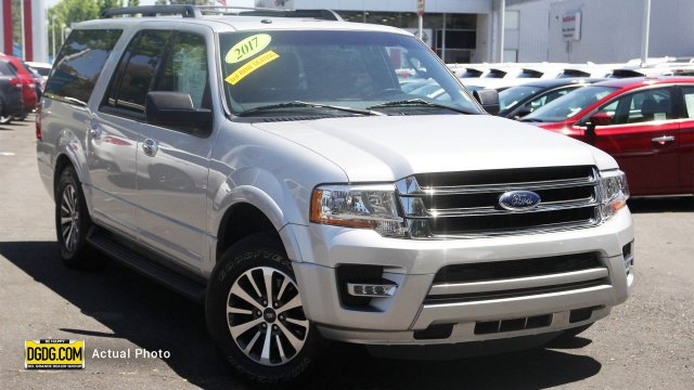 Ford Expedition El >> Pre Owned 2017 Ford Expedition El Xlt 4d Sport Utility In Sunnyvale