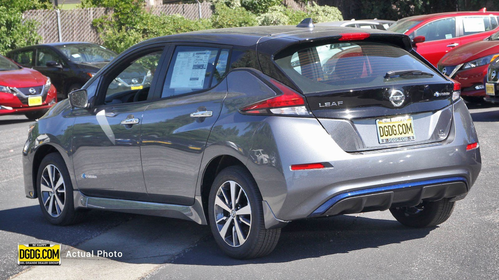 New 2019 Nissan LEAF S PLUS