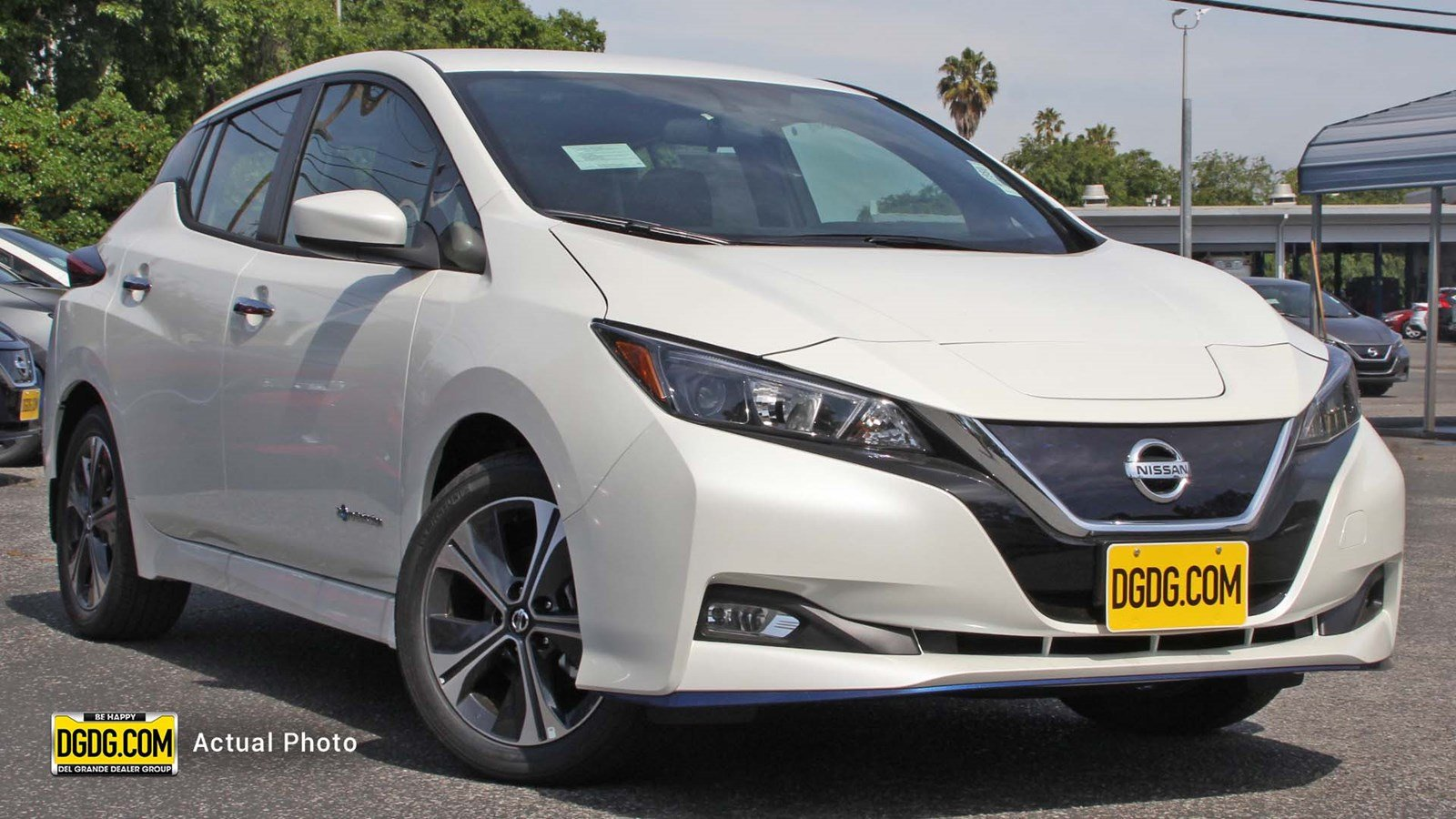 New 2019 Nissan Leaf Sv Plus Hatchback In Sunnyvale N13980 Nissan
