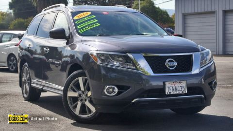 Certified Pre-Owned 2014 Nissan Pathfinder Platinum