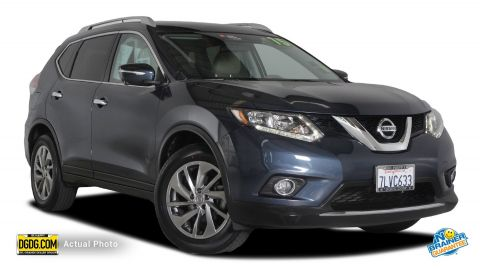 Certified Pre-Owned 2015 Nissan Rogue SL