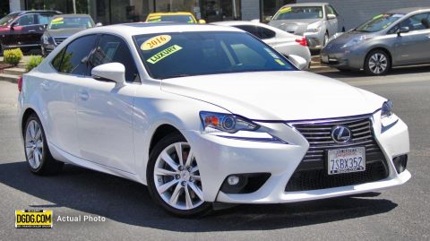 2016 Lexus IS 200t RWD 4D Sedan
